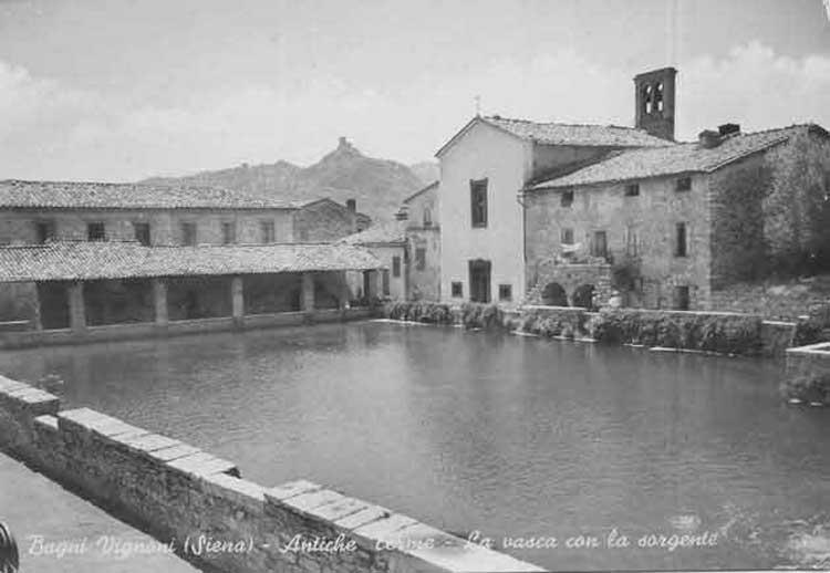 Bagno vignoni terme libere stabilimenti termali e visita al borgo agriturismo la torretta - Distanza da siena a bagno vignoni ...