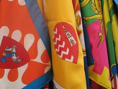 Siena, contrade e bandiere