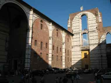 Siena, New Cathedral, Panorama