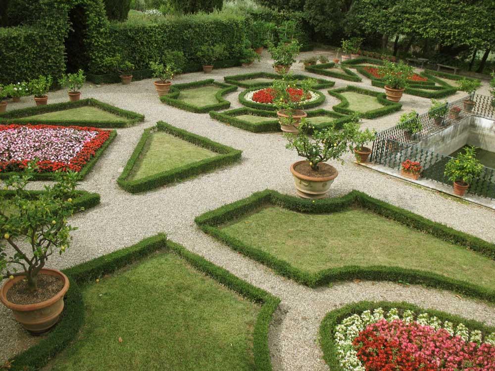 giardino alla italiana: storia del giardino barocco. - Piccolo Giardino Allitaliana