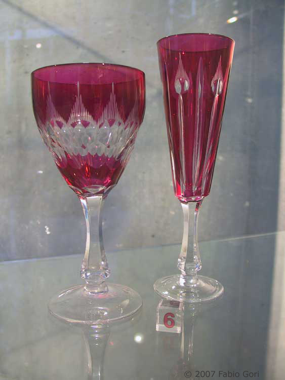 Colle val d 39 elsa visita al borgo ealle cristallerie for Bohemia bicchieri