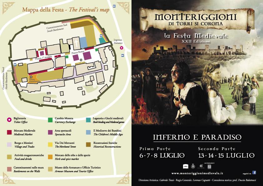 MONTERIGGIONI. Visita al castello di Monteriggioni
