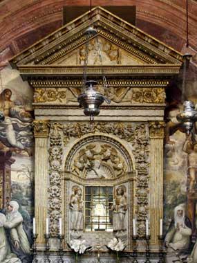 Testa di Santa Caterina da Siena. Patrona d'Europa, Patrona d'Italia, Patrona di Roma, Dottore della Chiesa Universale