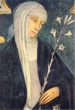 Ritratto di Santa Caterina da Siena: Patrona d'Europa e d'Italia, Dottore della Chiesa Universale
