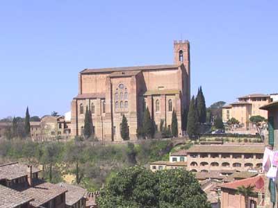 Siena, basilica cateriniana di San Domenico