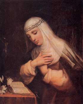 Ritratto di Santa Caterina da Siena: Patrona d'Italia e Patrona d'Europa