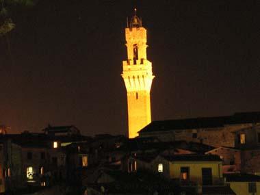 Siena, itinerario romantico