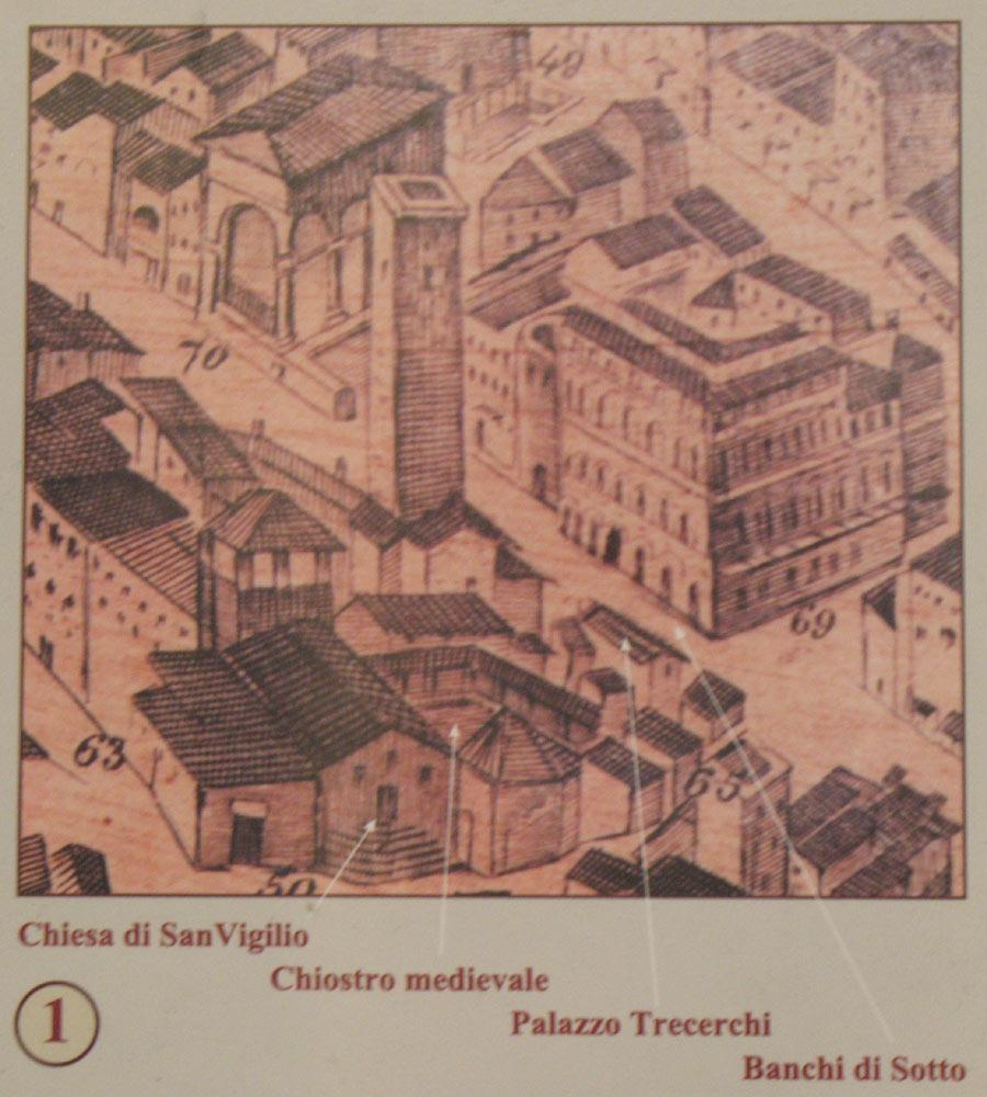 Universit di siena rettorato e palazzi visita info la for Palazzi di una storia